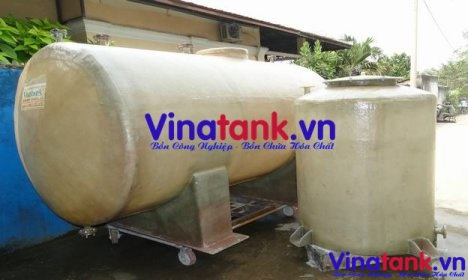 Bồn composite chứa hóa chất ăn mòn hiệu quả