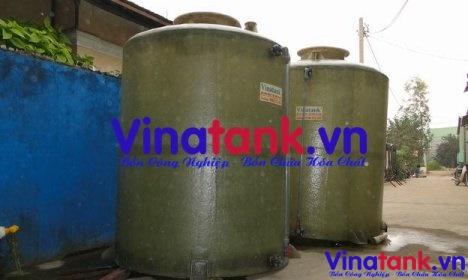 bồn composite frp trụ đứng, bể composite frp, bồn chứa nước thải, bồn chứa hóa chất