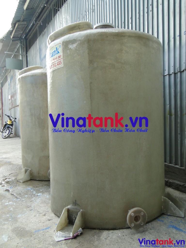 bồn composite frp chứa hóa chất, bon composite vinatank, báo giá bồn composite