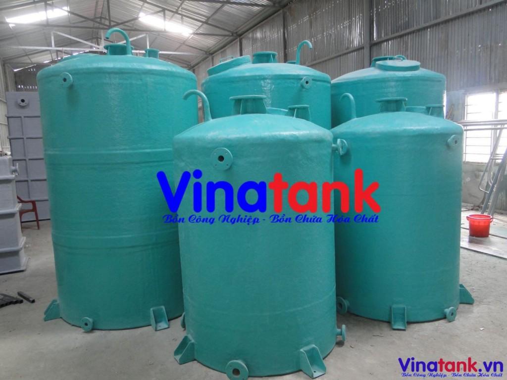 bồn composite frp chứa hóa chất, giá bồn composite, sản xuất bồn composite, thiết kế bồn frp composite